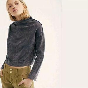 Free People Oh Marley Pullover Sweatshirt NWT
